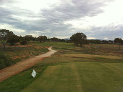 Hole 5 - From the Tee  » Click to zoom ->